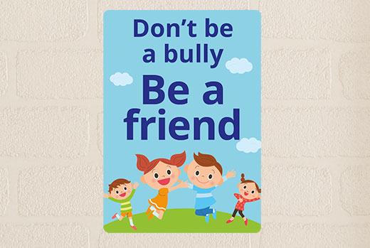 bully-sign-primary-school-sign