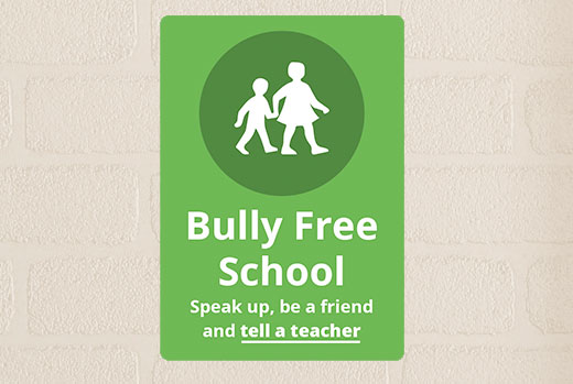 bullying-secondary-school-sign