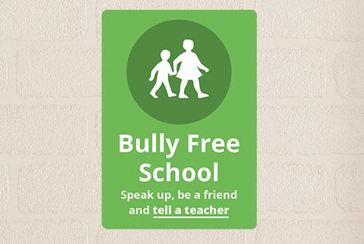 bullying-secondary-school-sign