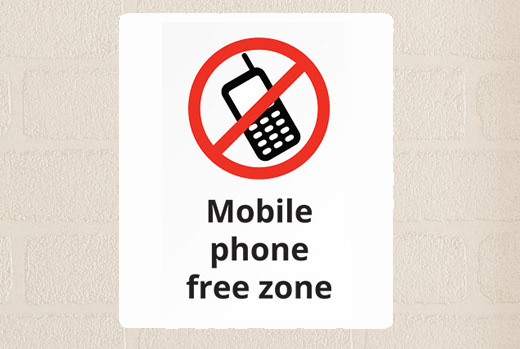 mobile-phone-free-zone-size