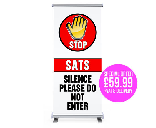 sats pop up banner